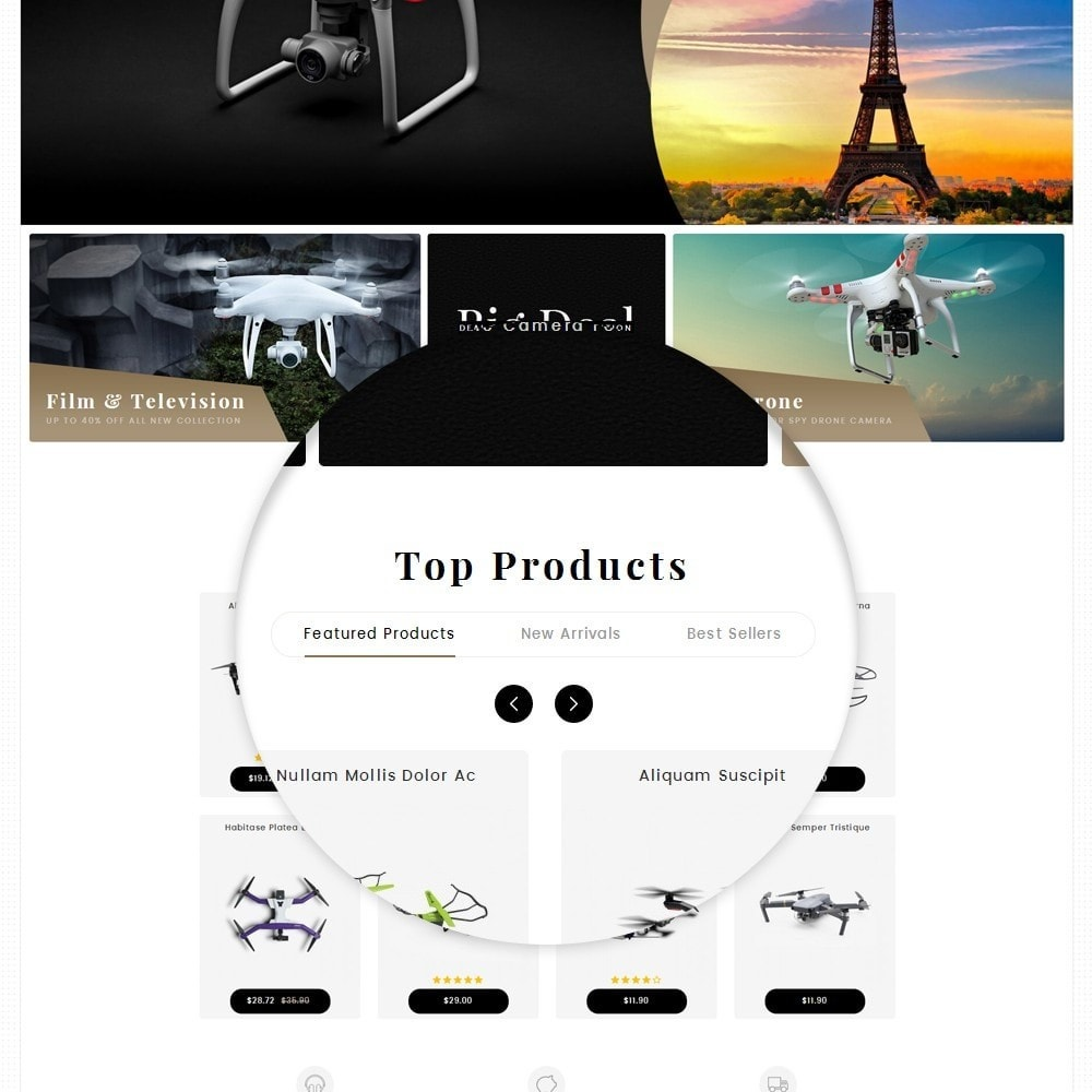 theme - Elektronika & High Tech - Drone Camera Store - 10