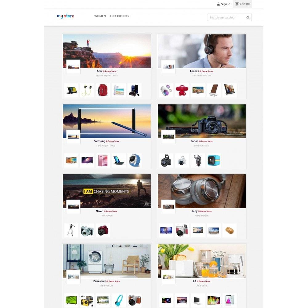module - Marcas y Fabricantes - Brands Wall Navigation: slider or block - 1