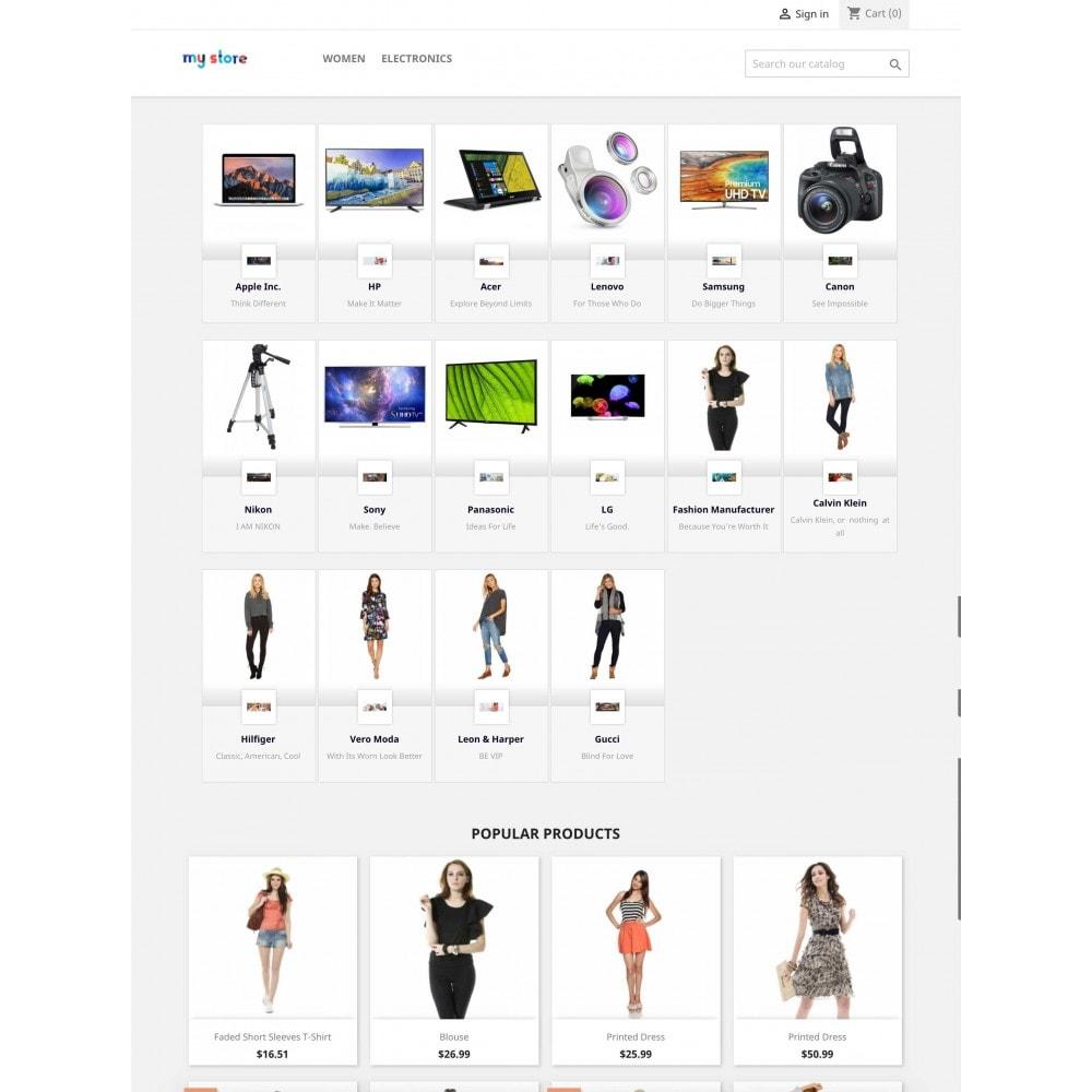 module - Marcas y Fabricantes - Brands Wall Navigation: slider or block - 4