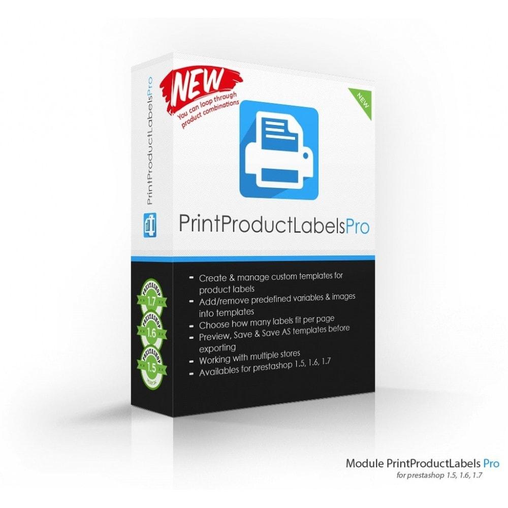 module - Preparación y Envíos - Print Product Labels Pro - 1