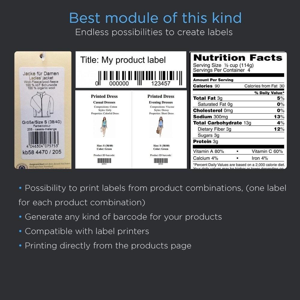 module - Preparación y Envíos - Print Product Labels Pro - 3