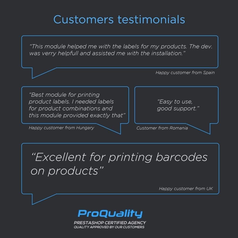 module - Preparación y Envíos - Print Product Labels Pro - 7