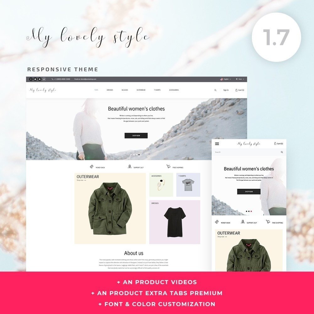 theme - Мода и обувь - My lovely style Fashion Store - 1