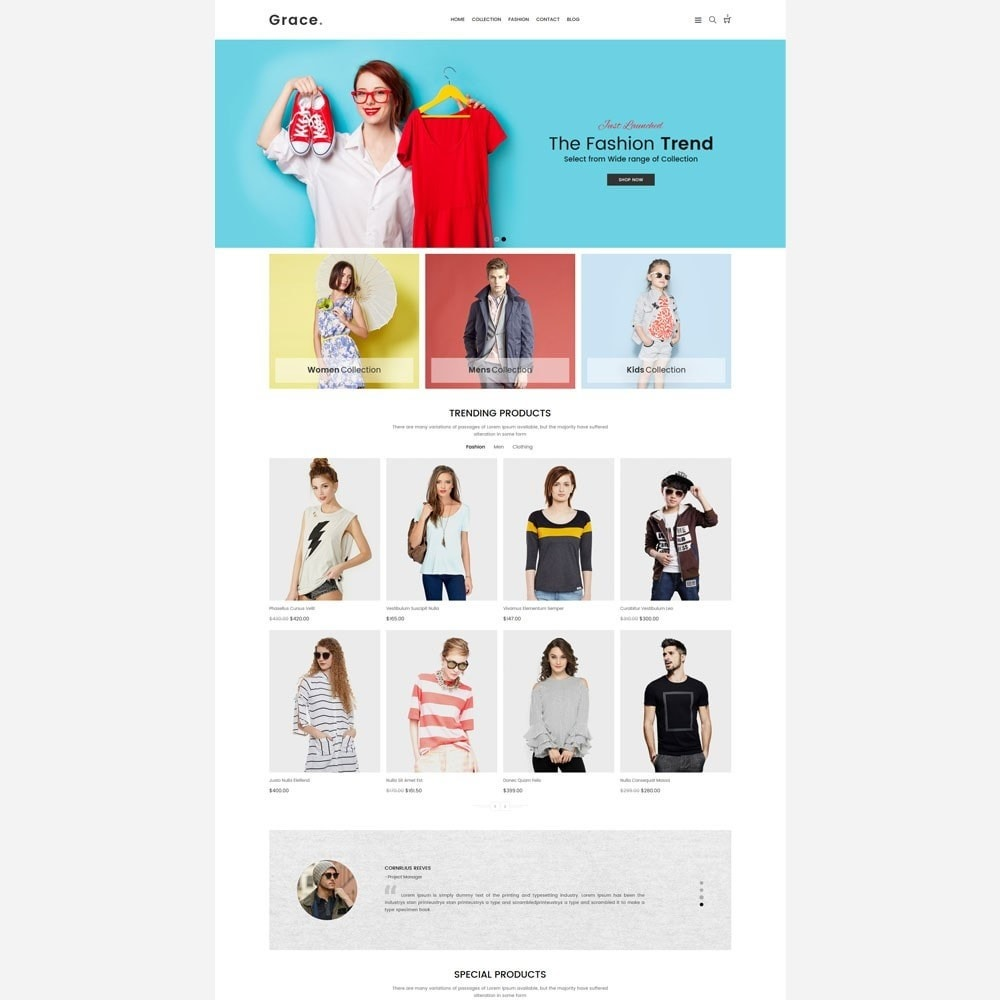 theme - Mode & Chaussures - Grace Fashion Store - 2
