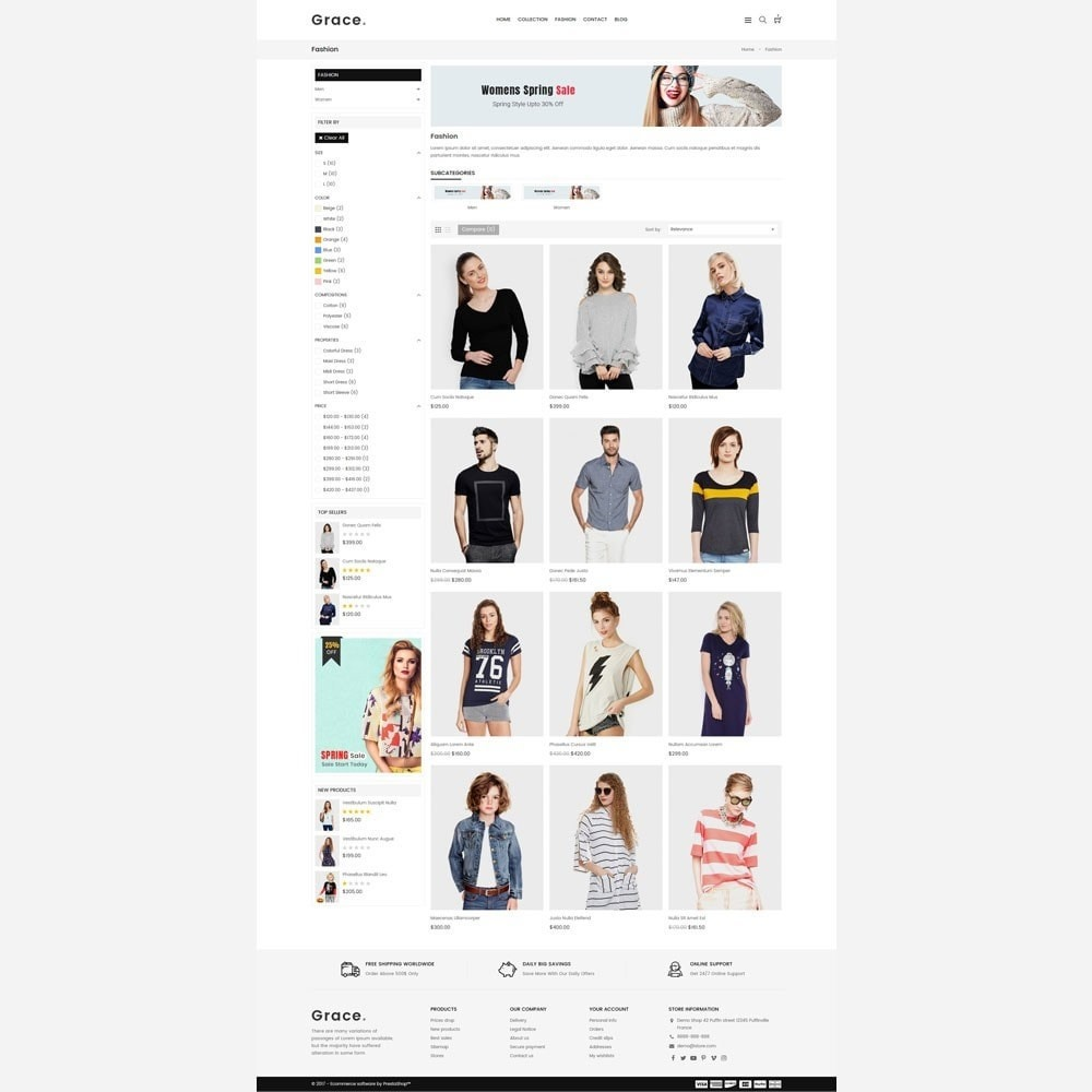 theme - Mode & Chaussures - Grace Fashion Store - 3