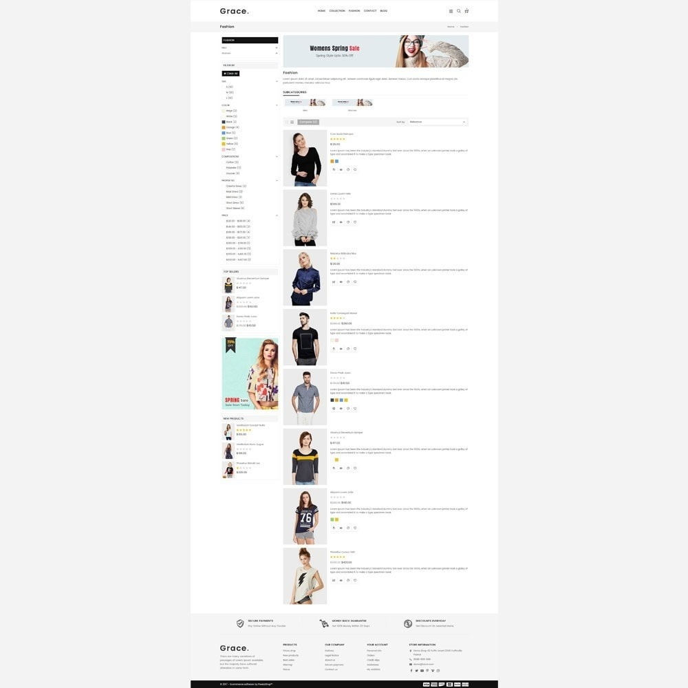 theme - Mode & Chaussures - Grace Fashion Store - 4
