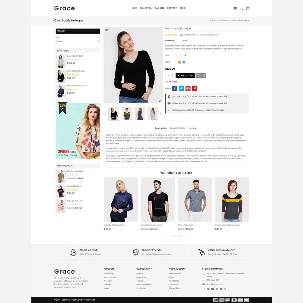 theme - Mode & Chaussures - Grace Fashion Store - 5