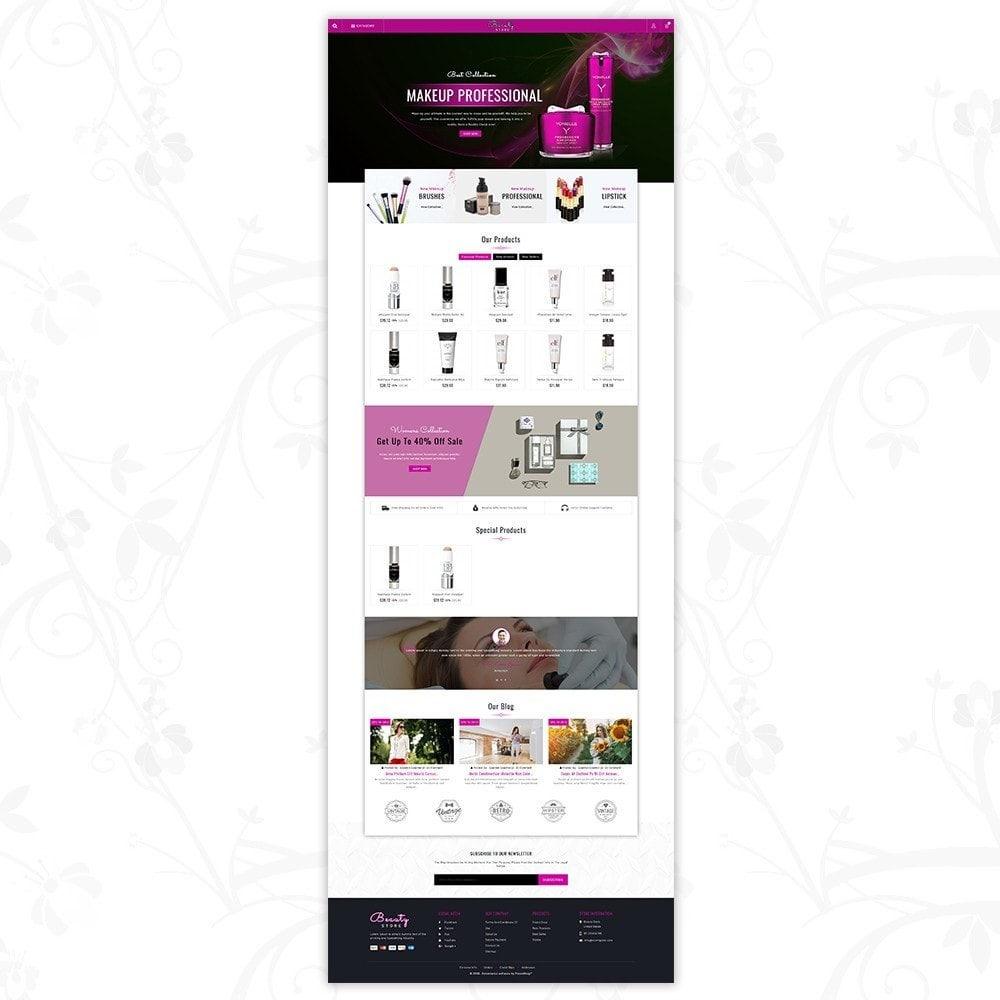theme - Salute & Bellezza - Beauty Store - 2