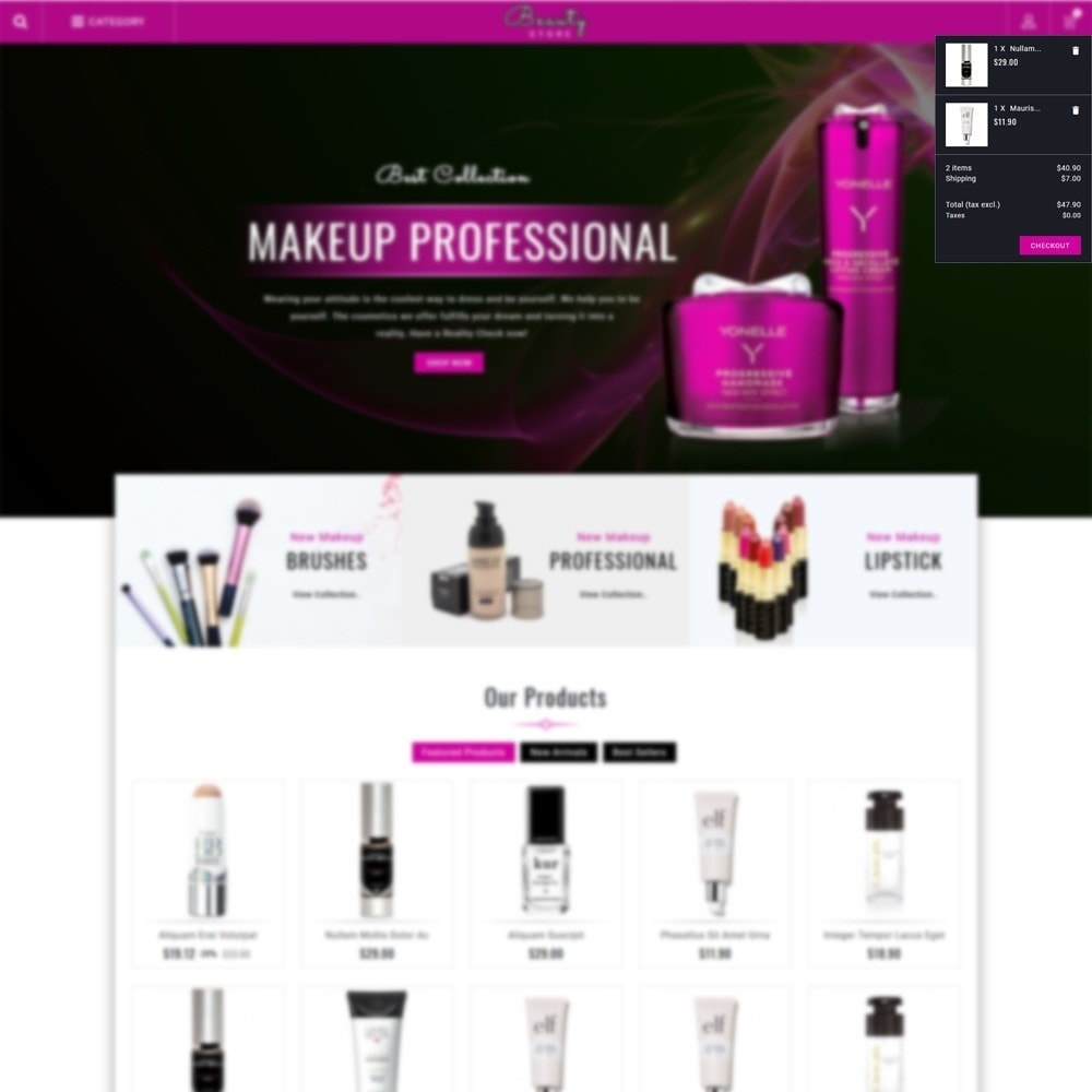 theme - Salute & Bellezza - Beauty Store - 6