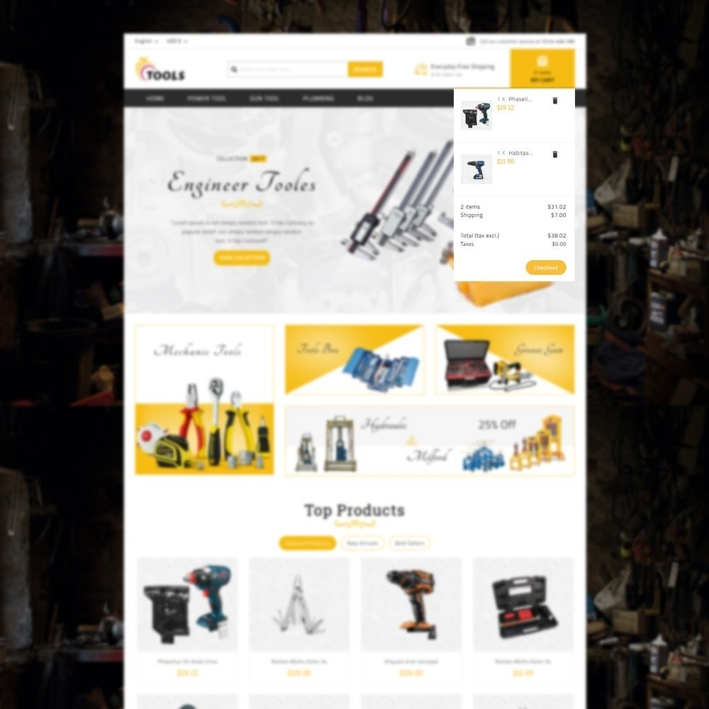 theme - Elektronica & High Tech - Tools Store - 7