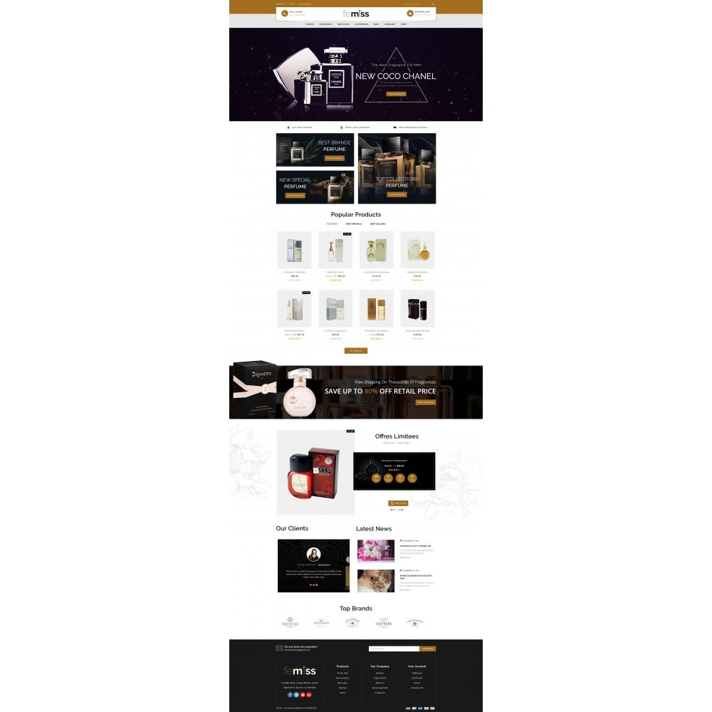 theme - Salute & Bellezza - Femiss - Perfume Store - 2
