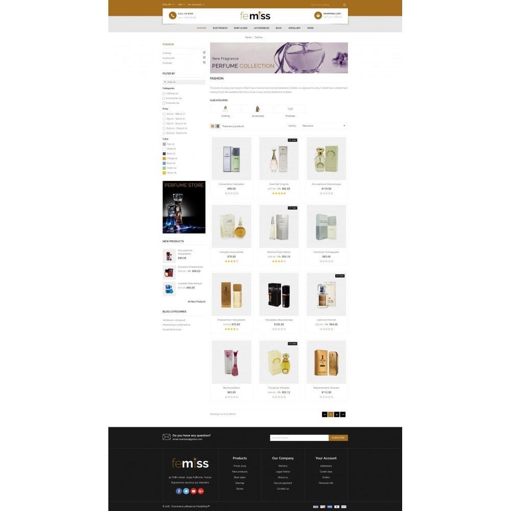 theme - Zdrowie & Uroda - Femiss - Perfume Store - 3