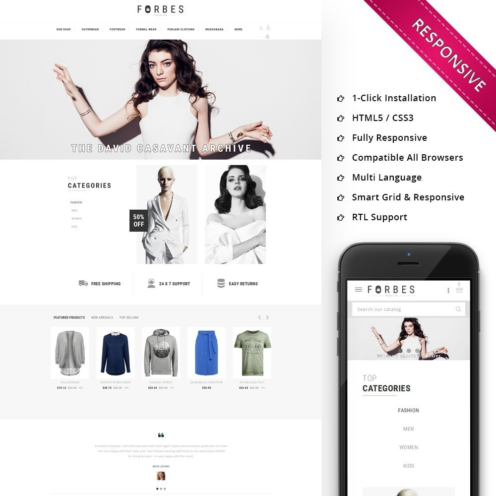 theme - Moda & Calzature - Forbes - The Fashion Store - 1