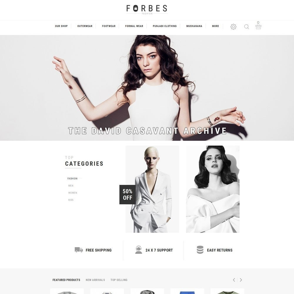 theme - Moda & Calzature - Forbes - The Fashion Store - 2