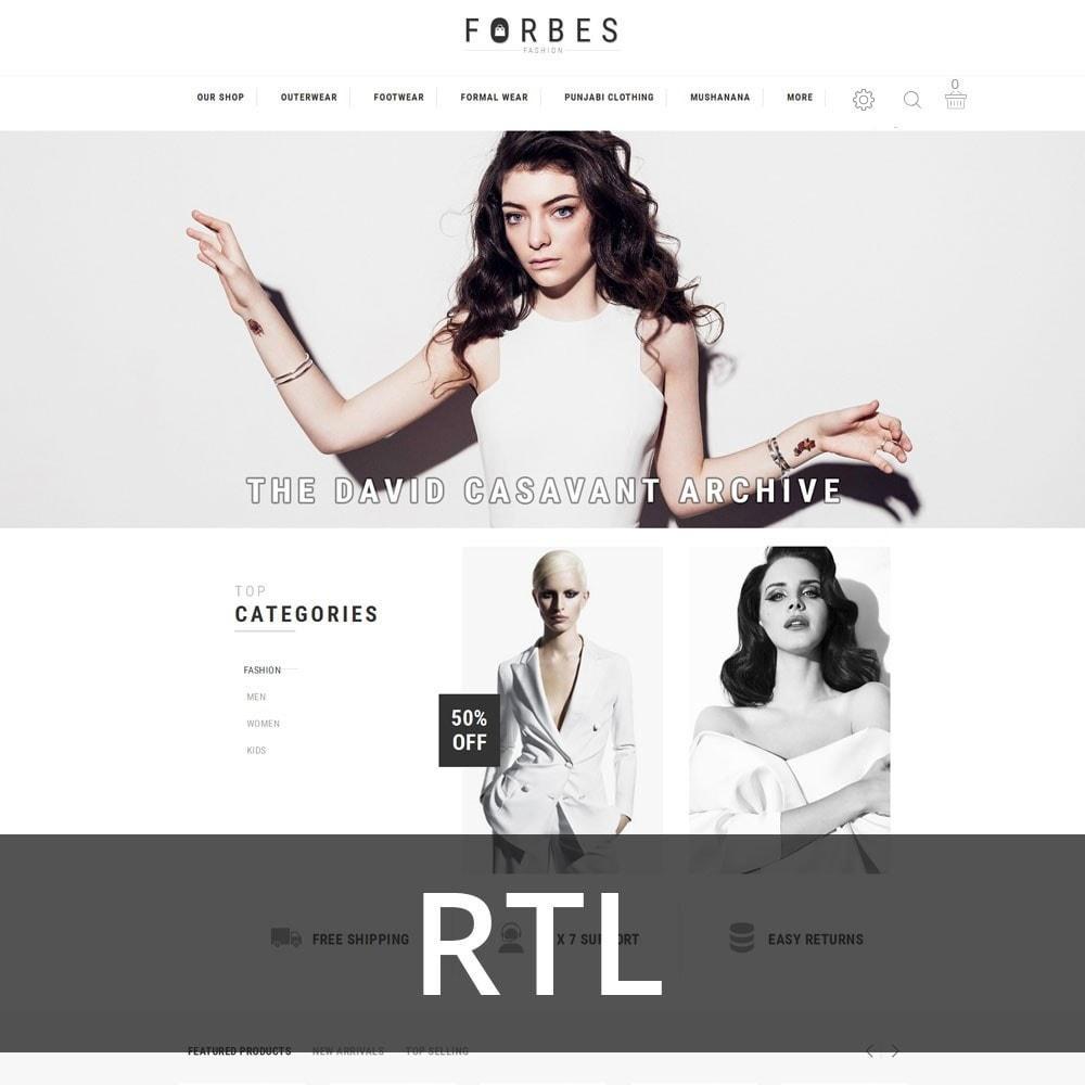 theme - Fashion & Shoes - Forbes - The Fashion Store - 3