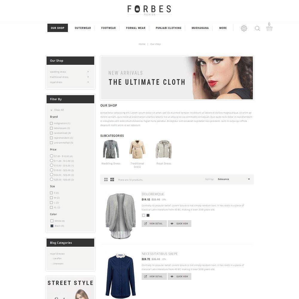 theme - Fashion & Shoes - Forbes - The Fashion Store - 4