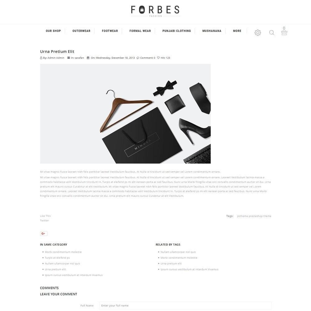 theme - Fashion & Shoes - Forbes - The Fashion Store - 5