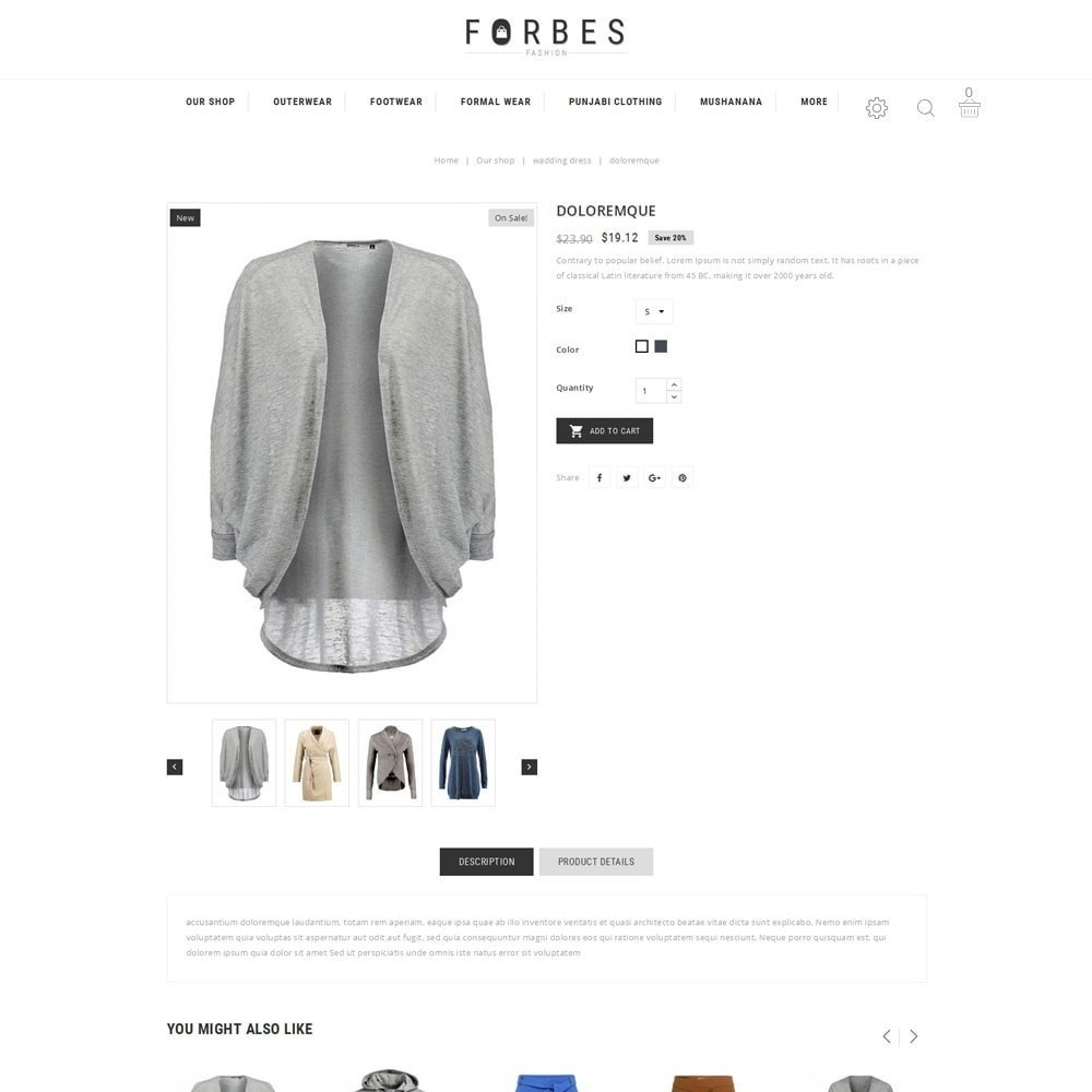theme - Mode & Schoenen - Forbes - The Fashion Store - 6
