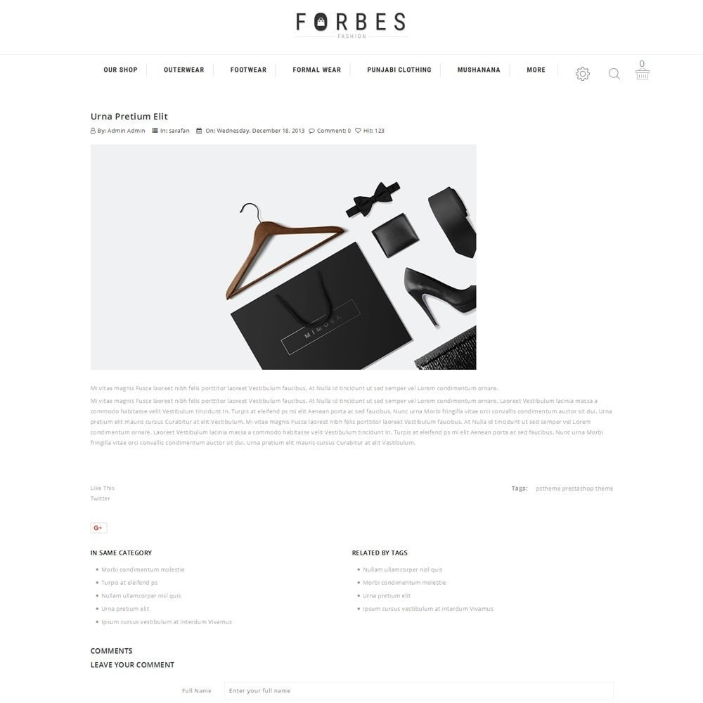 theme - Moda & Calzature - Forbes - The Fashion Store - 7