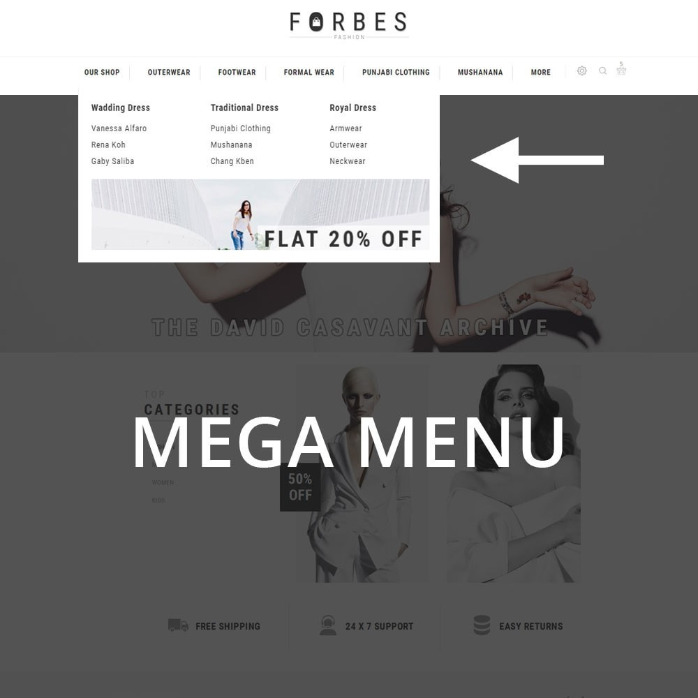 theme - Fashion & Shoes - Forbes - The Fashion Store - 9