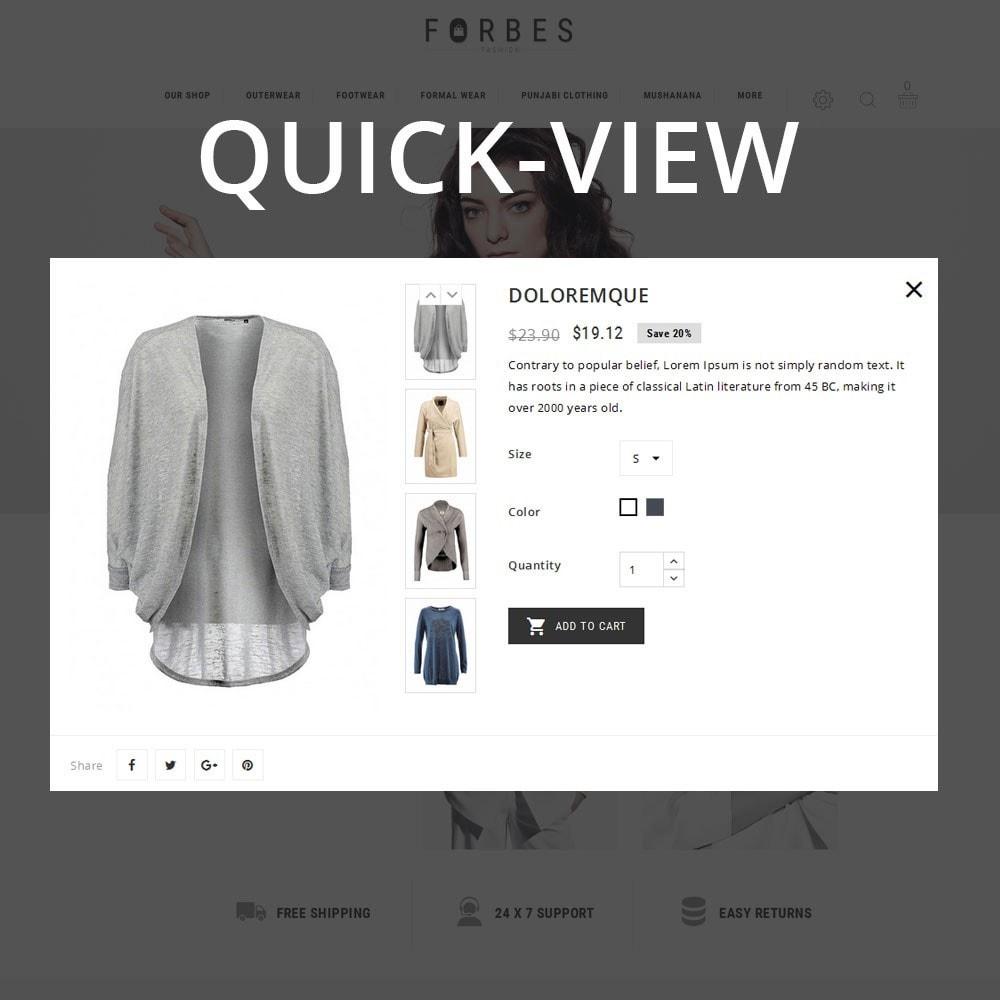 theme - Fashion & Shoes - Forbes - The Fashion Store - 12