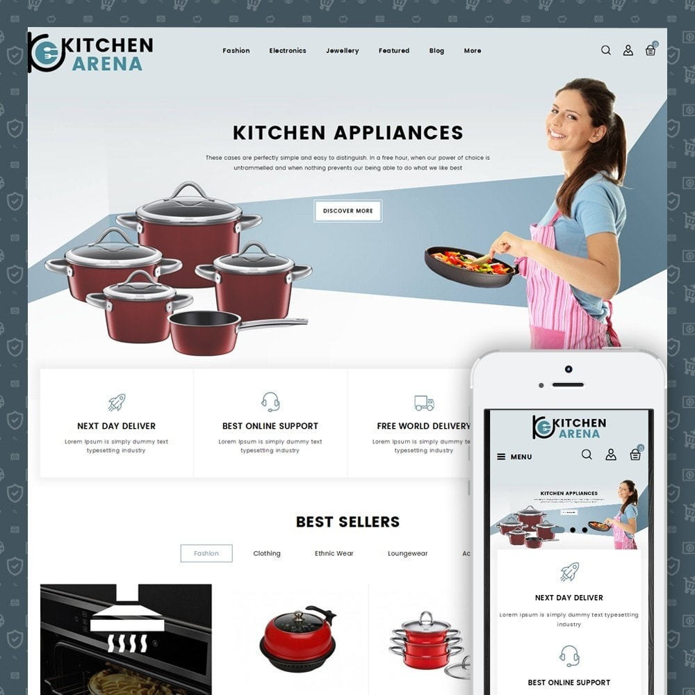 theme - Casa & Jardins - Arena Kitchen Store - 1