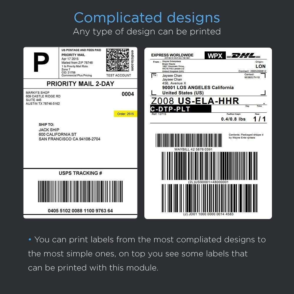 module - Preparation & Shipping - Print Shipping Labels Pro (Address Direct Print) - 4