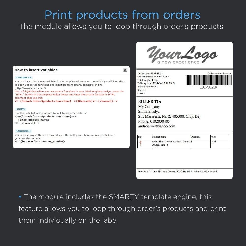module - Préparation & Expédition - Imprimer les étiquettes d'expédition (Adresse Print) - 6