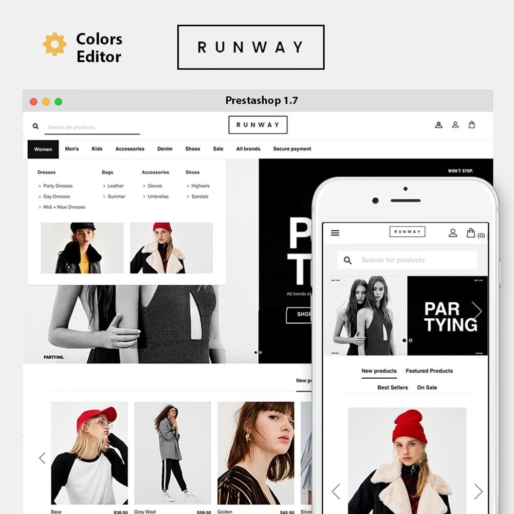 theme - Moda y Calzado - Runway Fashion - 1