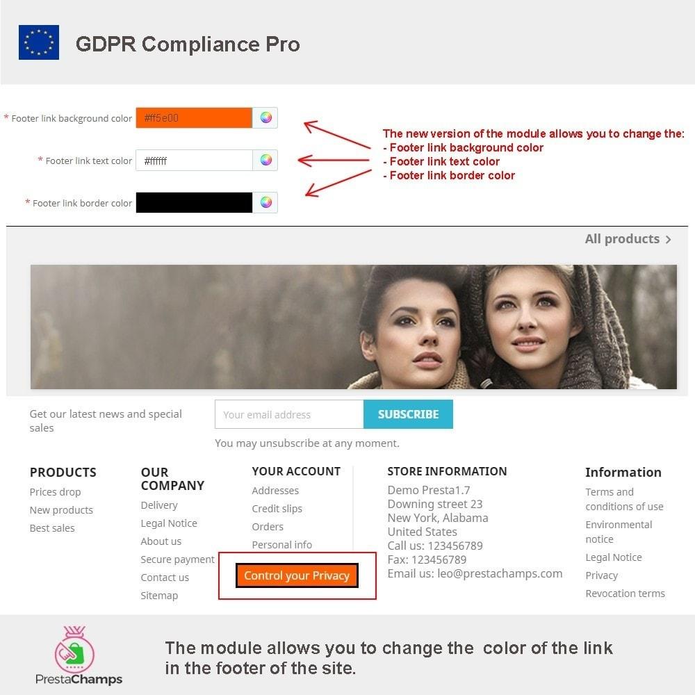 module - Legal - GDPR Compliance Pro - 16