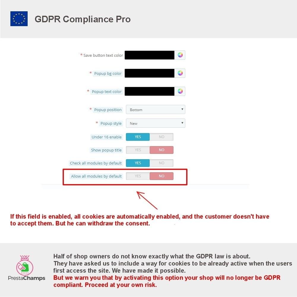 module - Juridisch - GDPR Compliance Pro - 2021 Enhanced Edition - 21