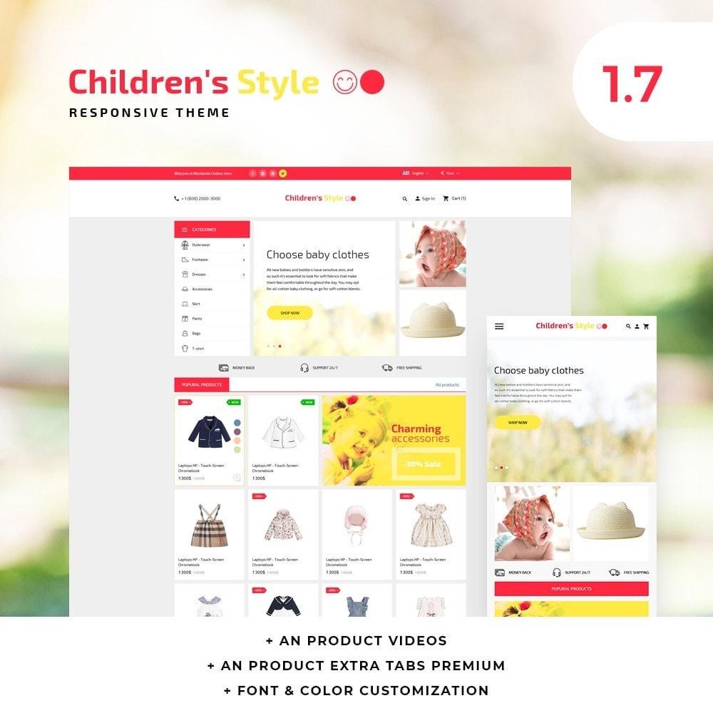 theme - Kids & Toys - Children's Style - 1