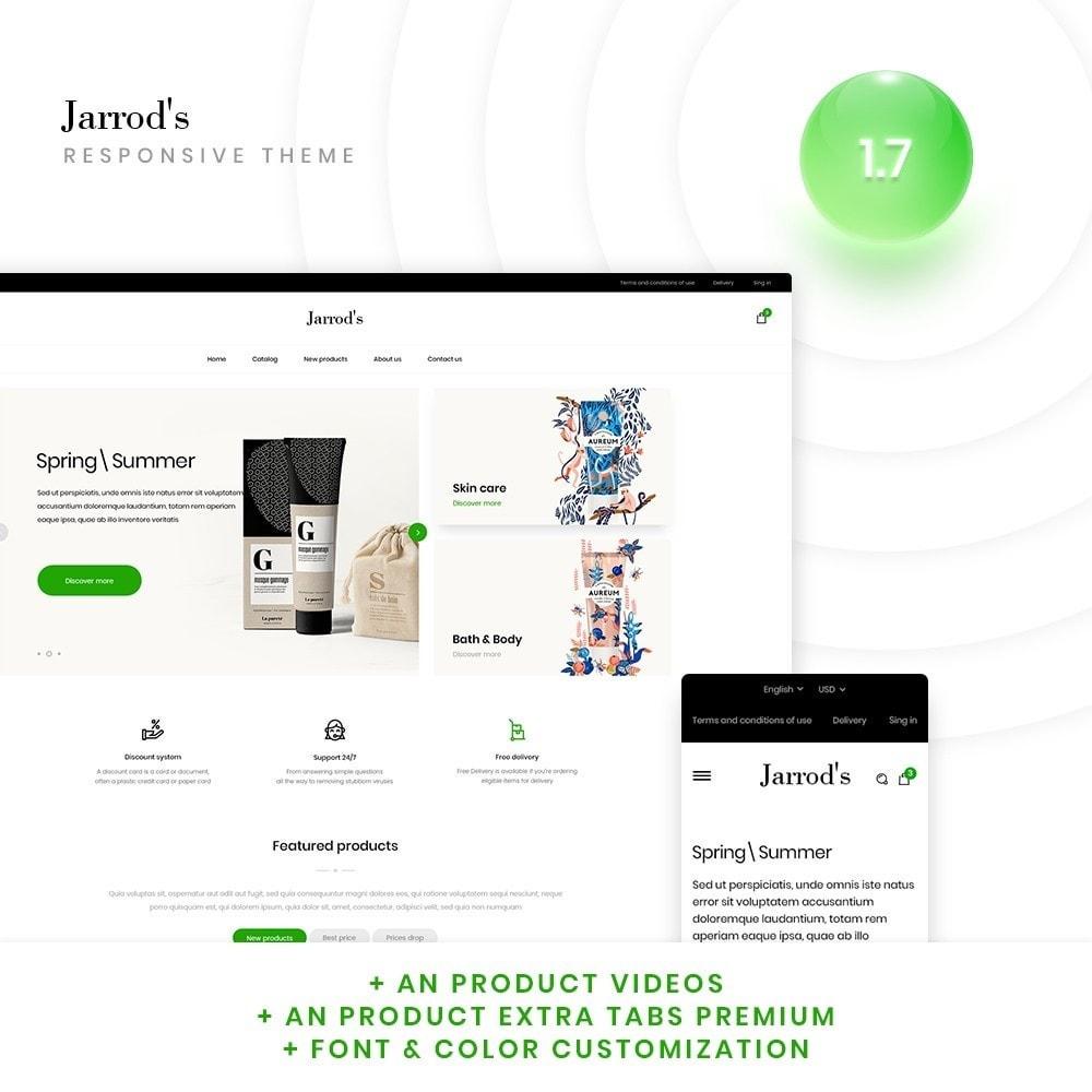 theme - Santé & Beauté - Jarrod's Cosmetics - 1