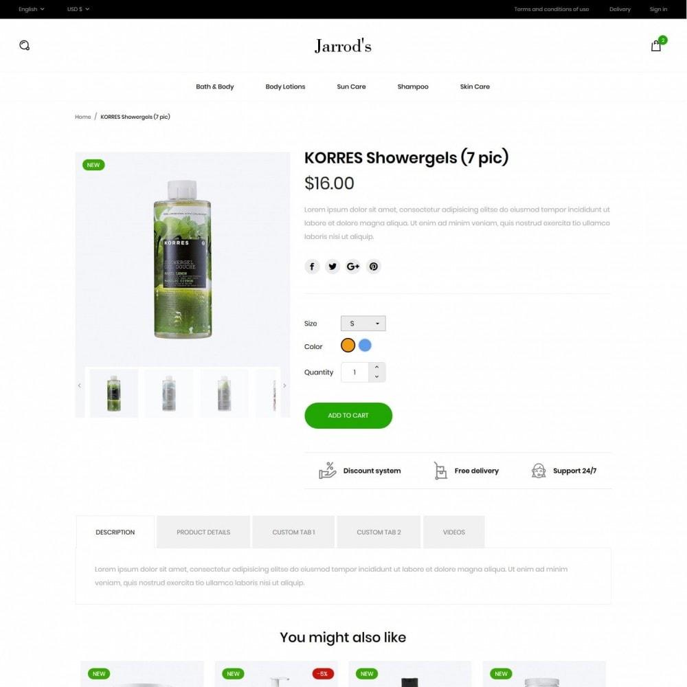 theme - Santé & Beauté - Jarrod's Cosmetics - 6