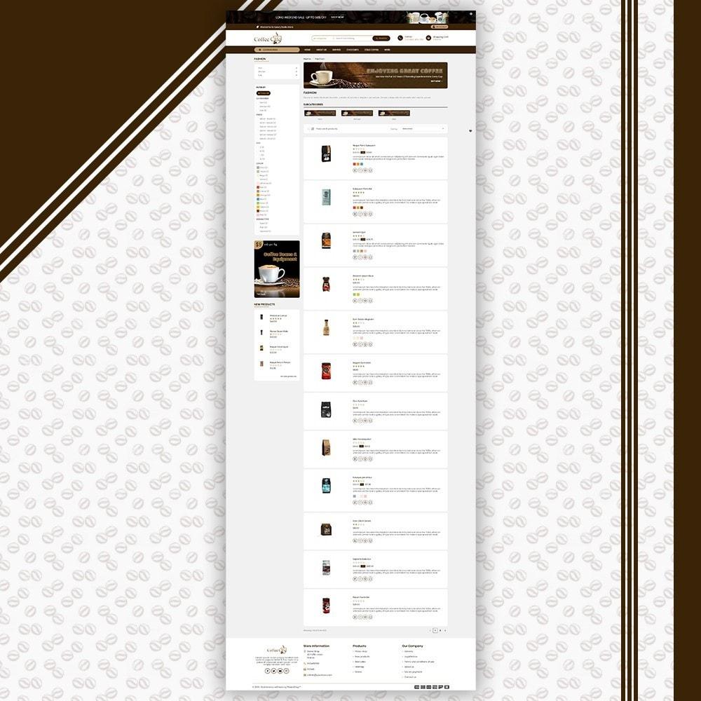 theme - Bebidas & Tabaco - Coffee Shop - 4