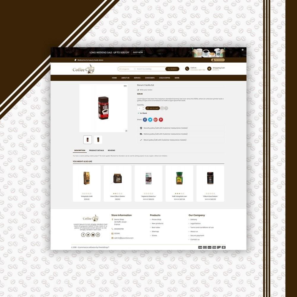 theme - Bebidas y Tabaco - Coffee Shop - 5