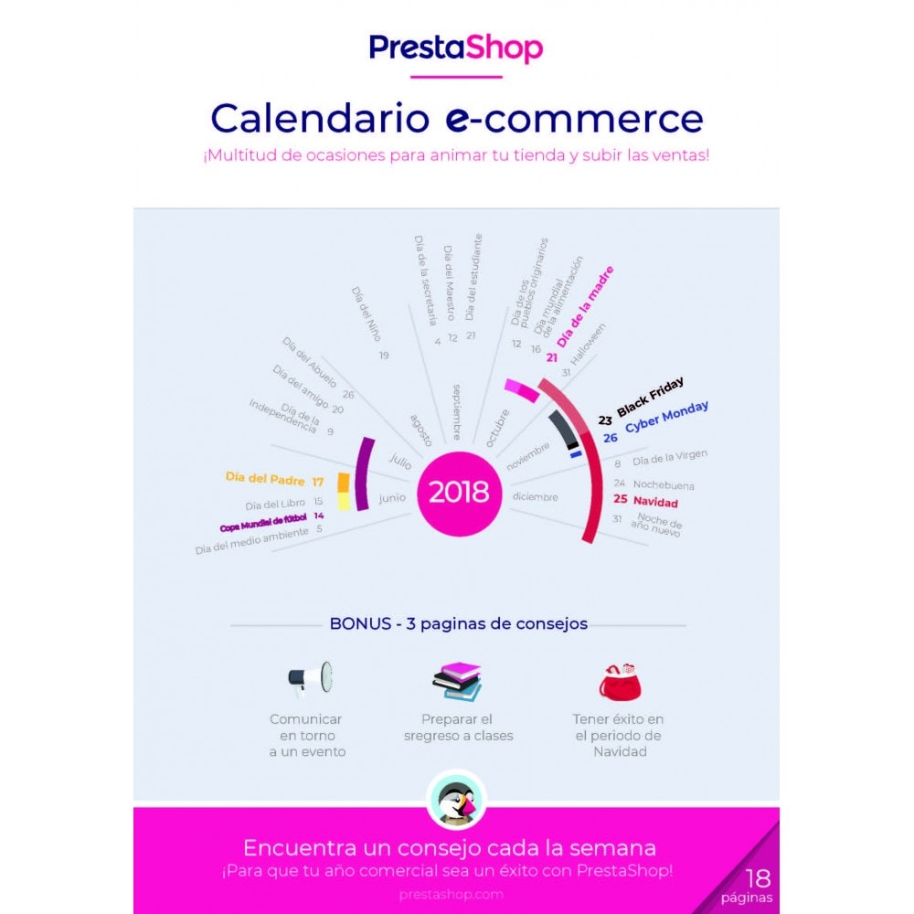 other - Calendario e-Commerce - Calendario de e-commerce 2018 para el último semestre del año - 1