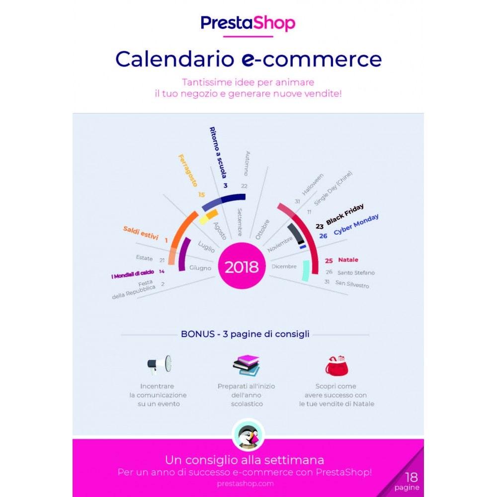 other - Calendario eCommerce - Calendario e-commerce 2018 di fine anno - 1