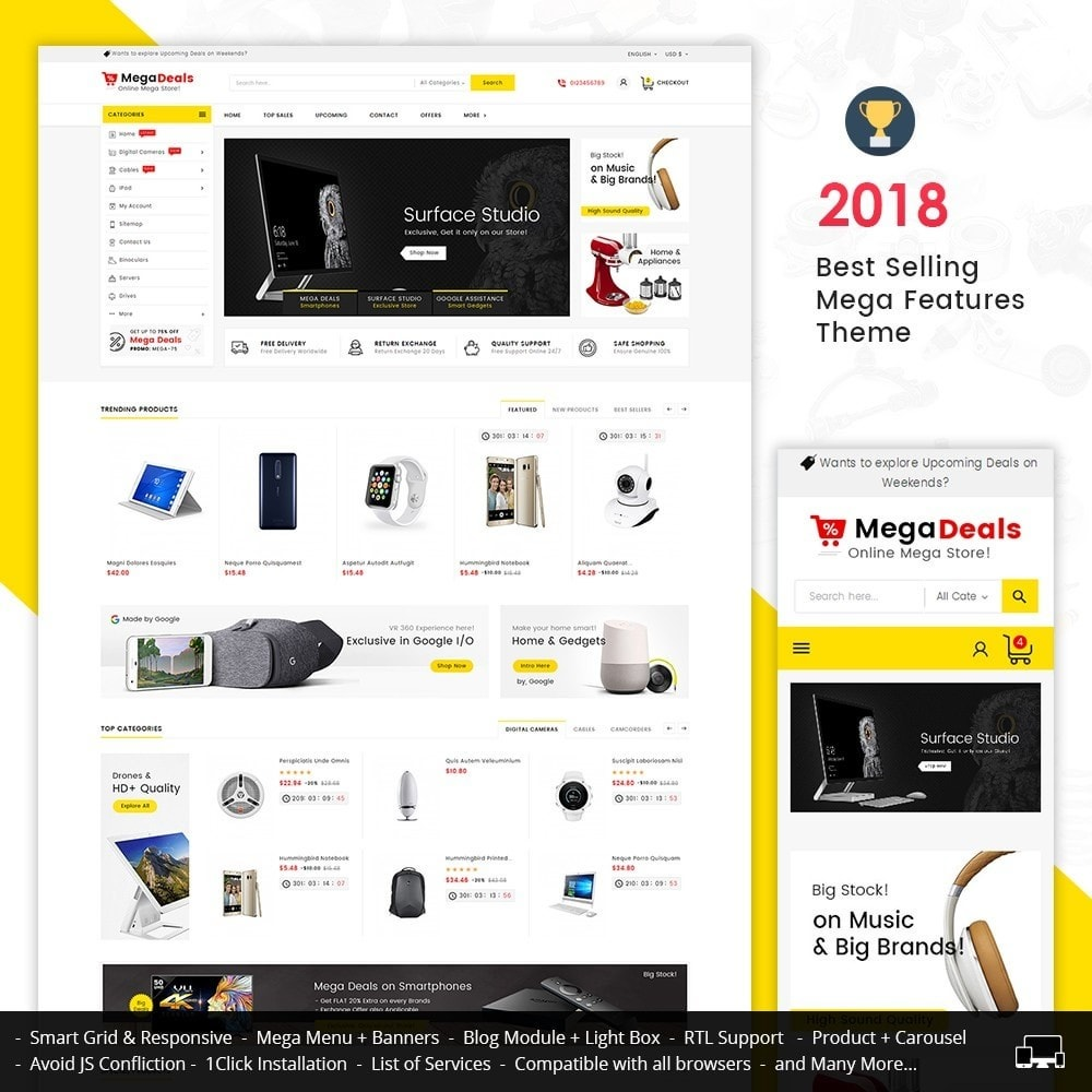 theme - Elektronika & High Tech - Mega Deals Electronics - 1