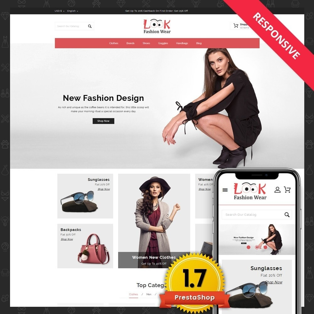 theme - Mode & Schuhe - Look - Fashion Store - 1