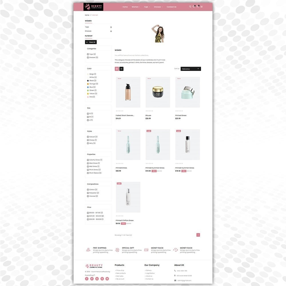 theme - Fashion & Shoes - Cosmetic Store - 3