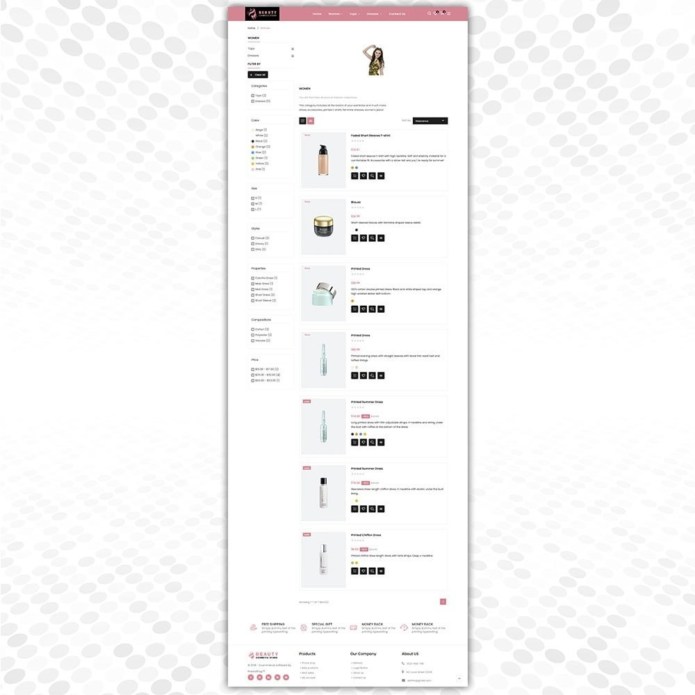 theme - Fashion & Shoes - Cosmetic Store - 4