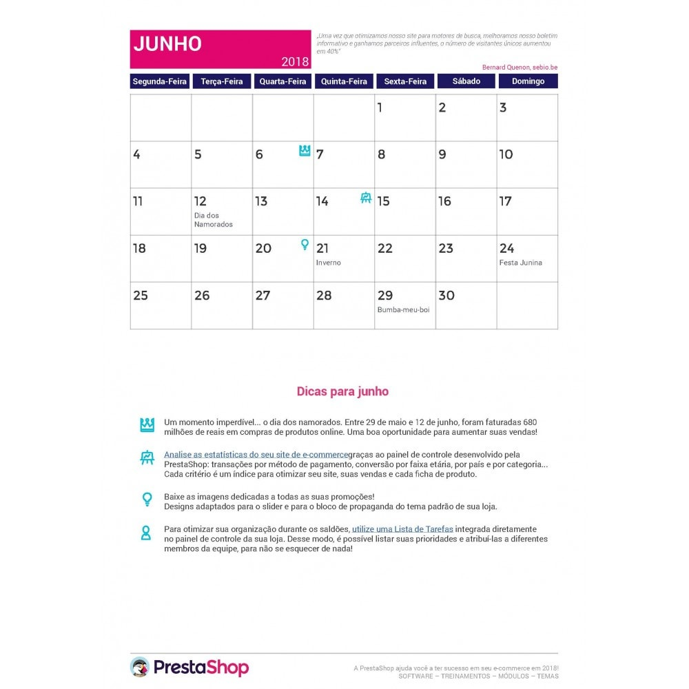 other - Calendário ecommerce - Calendário de e-commerce 2018 de fim de ano - 2