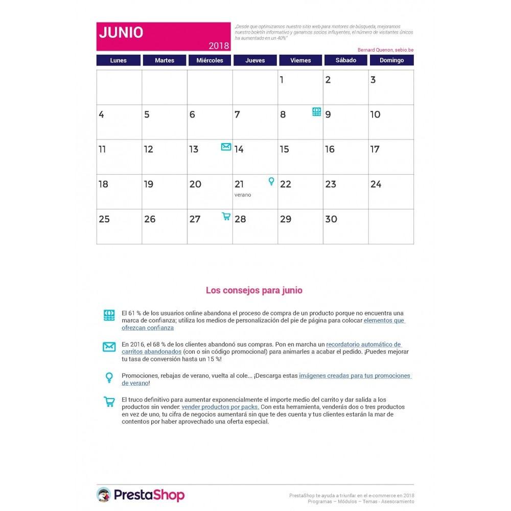 other - Calendario e-Commerce - Calendario de e-commerce 2018 para el último semestre del año - 2