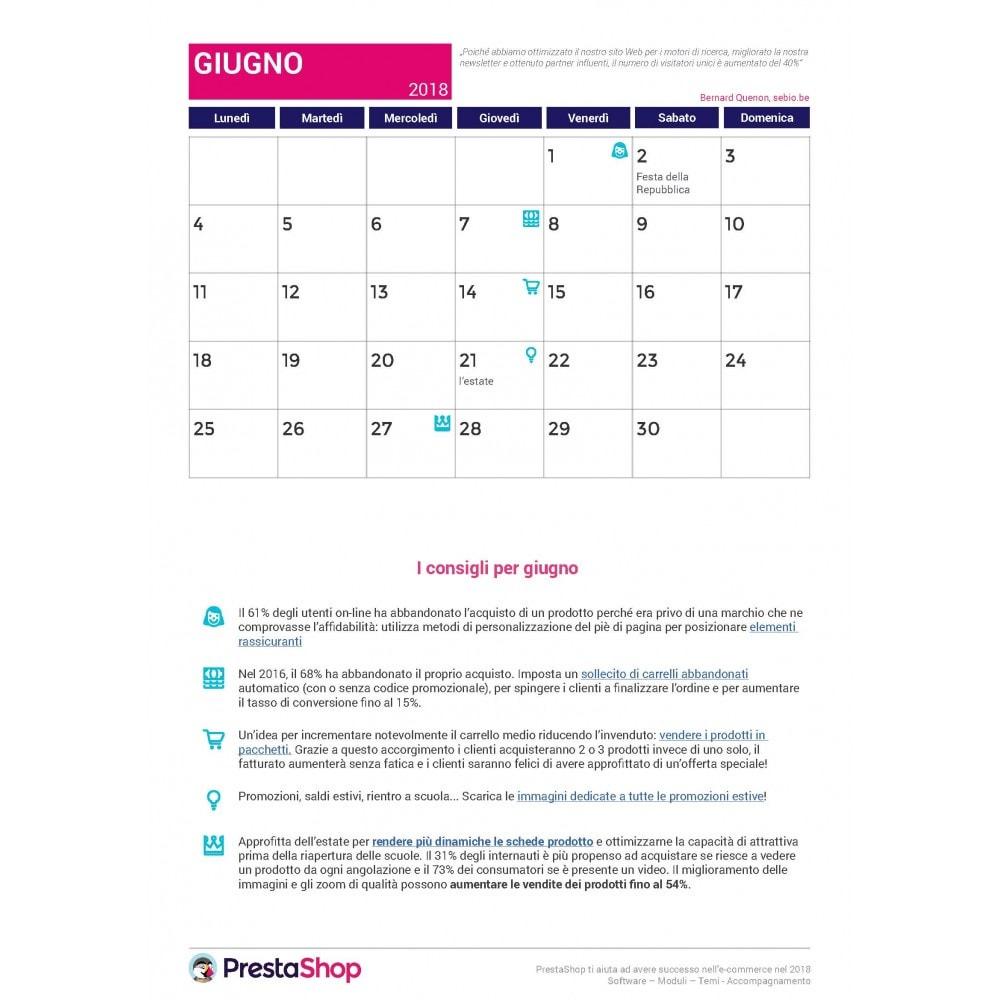 other - Calendario eCommerce - Calendario e-commerce 2018 di fine anno - 2