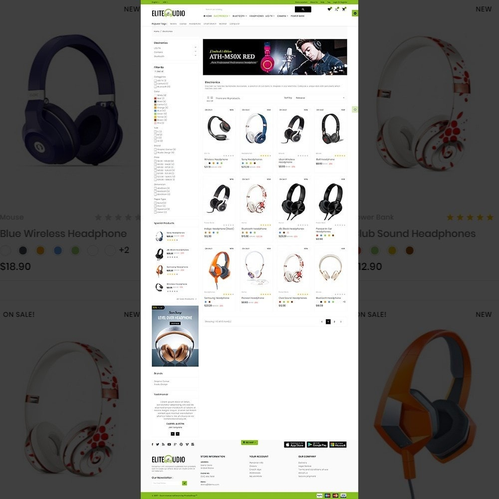 theme - Electronics & Computers - Elite Audio – The Electronic Store - 4