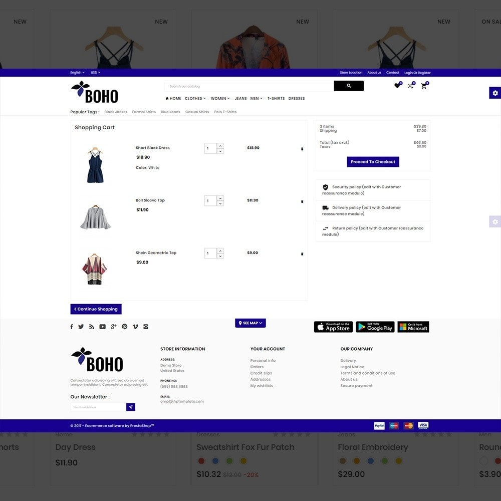theme - Mode & Chaussures - Style Mega Shop - 5