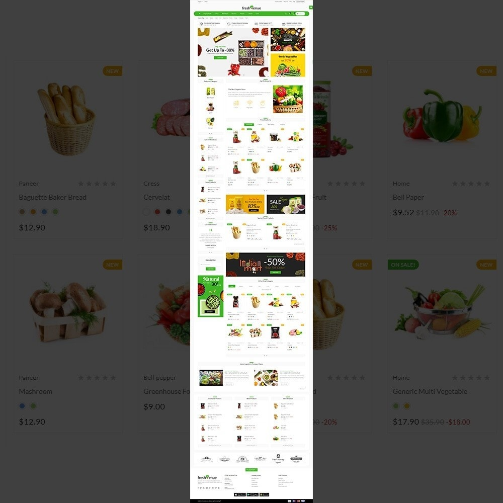 theme - Żywność & Restauracje - Fresh Avenue Fresh–Grocery Super Multipurpose Store - 2