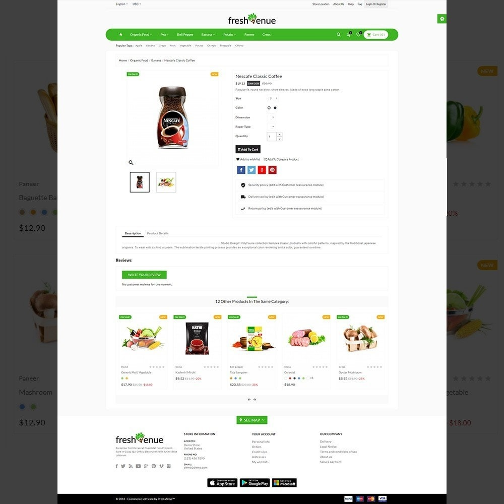theme - Żywność & Restauracje - Fresh Avenue Fresh–Grocery Super Multipurpose Store - 4