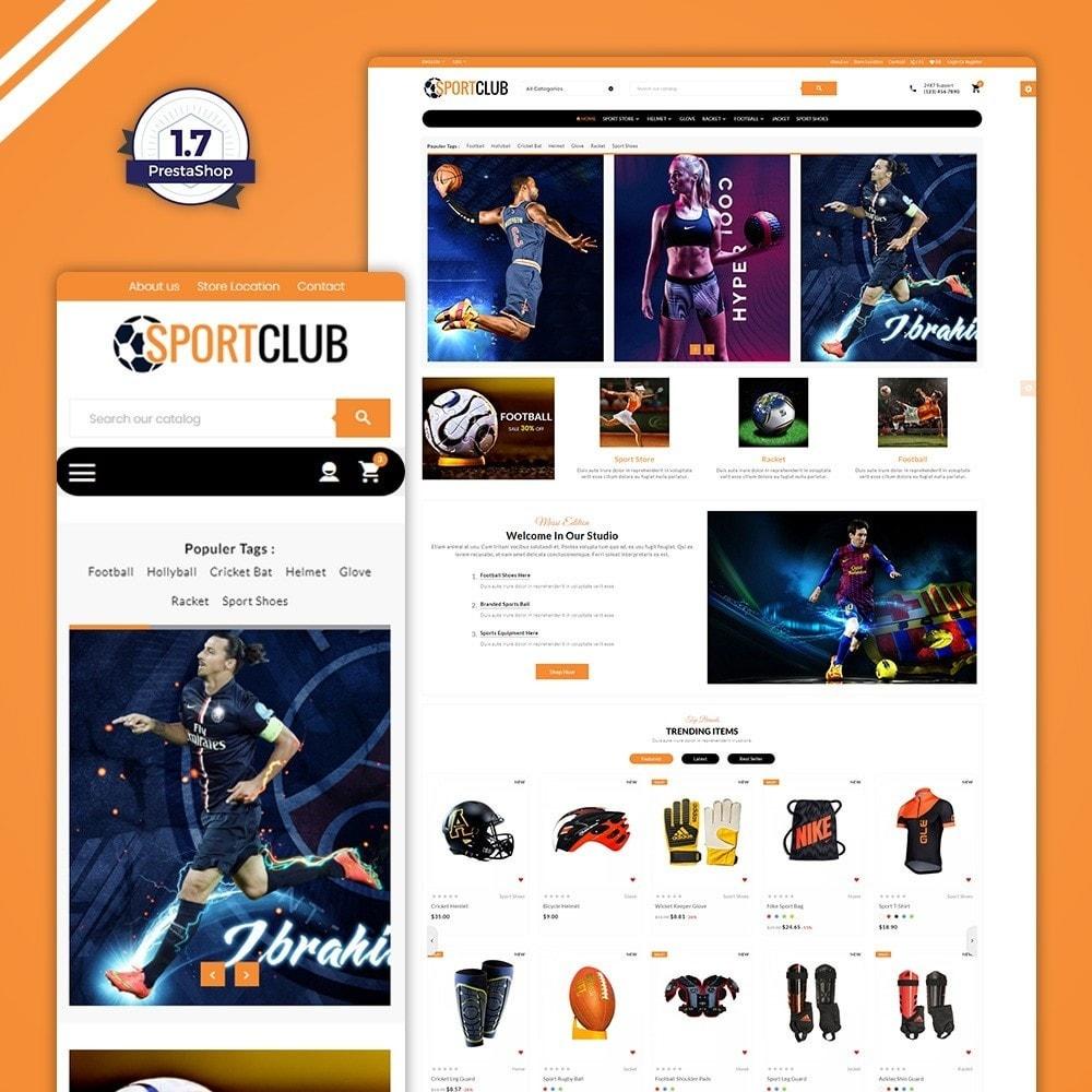 theme - Sport, Loisirs & Voyage - Sport Club - Gym Fitness - 1